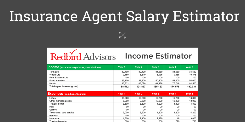 Insurance Agent Salary Estimator: How to Make 6 Figures